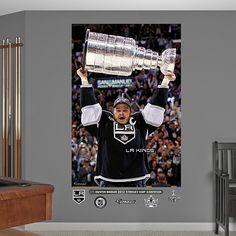 Dustin Brown Stanley Cup Mural, Los Angeles Kings