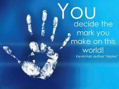 Make your mark!