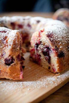 Mixed Berry Streusel Bundt