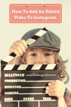 Tutorial on How To Add An Edited Video To Instagram | #socialmedia #instagram #video #videoediting