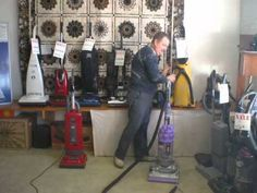 A basic tutorial on how different vacuums use hoses.