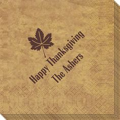 Little Leaf Napkins