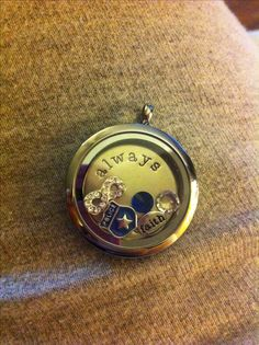 Police Wife locket