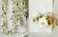 Lily Garlands by Amy Merrick, via Flickr