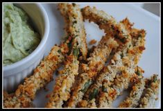 """Oven-""""fried,"""" Panko-coated green beans"""