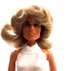 Farrah Fawcett 1970s Vintage MEGO doll toy // vintage collectable  / 1975. $25.00, via Etsy.