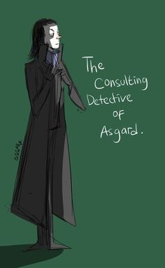 Loki as Sherlock... Yessssss...