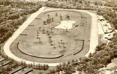 Saratoga Race Course on Aug. 2, 1954. Courtesy Saratoga Springs History Museum