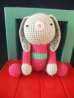 I Love Buttons By Emma: Crochet Bunny