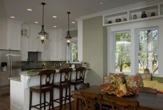 Hemingway S Cottage Eclectic Kitchen Raleigh Blue