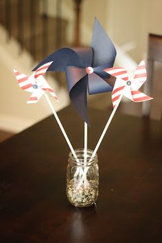 If the shoe fits...: 4th of July Crafts
