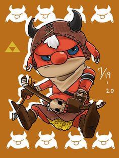 Moblin<<< how cute!!
