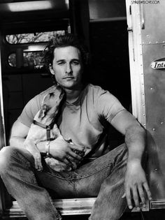 MATTHEW McCONAUGHEY & his JRT