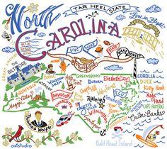 North Carolina at a glance...
