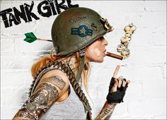 Scott Cole Tank Girl - Love it!!!