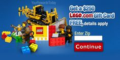 Get $250 Lego Gift Card