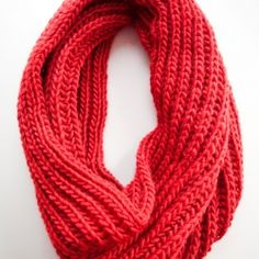 Brioche stitch cowl scarf. Now I just need to find someone to knit it for me!