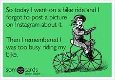 Forget Instagram http://bike2power.com