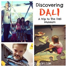 Kids Art Activity: Discovering Dali from Coffee Cups and Crayons