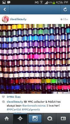 MAC Pigments...NEED!
