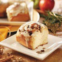 Apple-Pecan Cinnamon Rolls and other bread machine recipes