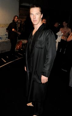"""Why yes, Hugh Hefner did steal his sexy pajama look from me."" 