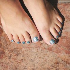 Crystal Pedicure www.nailsmag.com