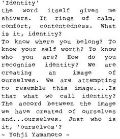 identity and belonging change can Inside contexts: exploring issues of identity and belonging section a: introduction to the context 6 can change these markers this is why the differences between identical twins may develop.