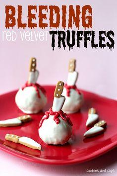 Bleeding truffles