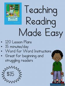 How to teach reading: Teaching Reading Made Easy