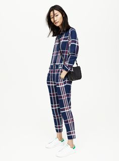 madewell plaid jumps