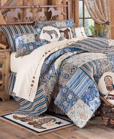 River Ranch #western bedding