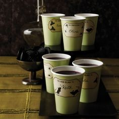 Haunted Drink Labels 12ct