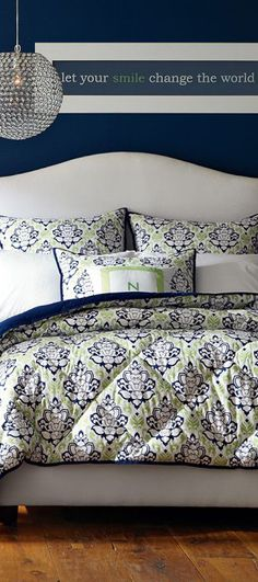 Damask Comforter Collection
