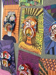 middle school art, becker middl, pop cans, can art, middl school, diy idea, lesson idea, art projects, picasso pop