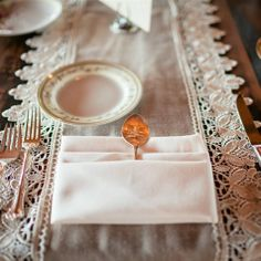 Such a cool idea - Engraved Spoon Place Cards