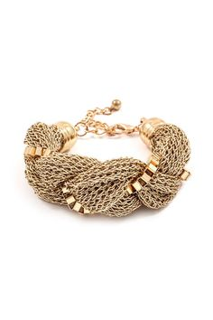 Mesh Grace Bracelet in Gold