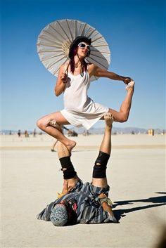 Lovely Burning Man