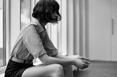 Marta Dyks for Amica Magazine June 2014 by Laurence Ellis bob dream, short short hair