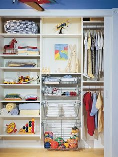 Organized Compartments - Kids' Closet Ideas on HGTV