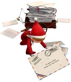Elf on the Shelf : Letter To Santa