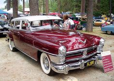 1951 Chrysler Town and Country Wagon.