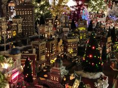 Department 56 Christmas in the City village. I collect these.