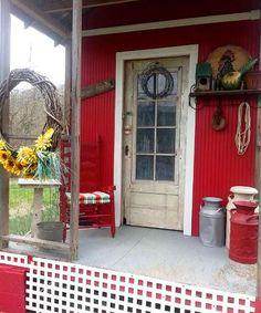 Front porches and back doors, Flea Market style | Flea Market Gardening