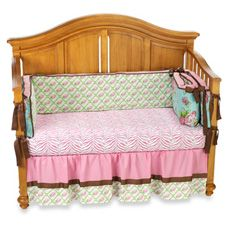 Caden Lane Londyn 3-Piece Crib Beddng Set and Accessories - Bed Bath & Beyond