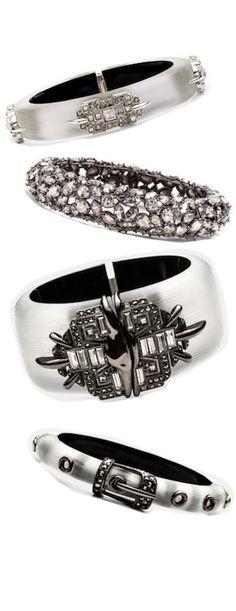 Alexis Bittar Santa Fe Deco Hinged Bracelets