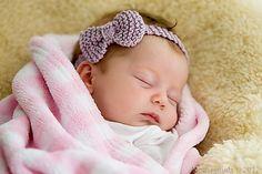 Ravelry: Little Bow Headband pattern by Amanda Allcock; free