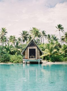 Looks like the perfect getaway to us.