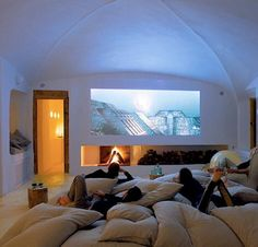 home theaters, movie rooms, famili, basement, family rooms