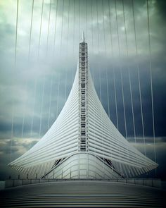 Milwaukee Art Museum by Santiago Calatrava. @Deidré Wallace
